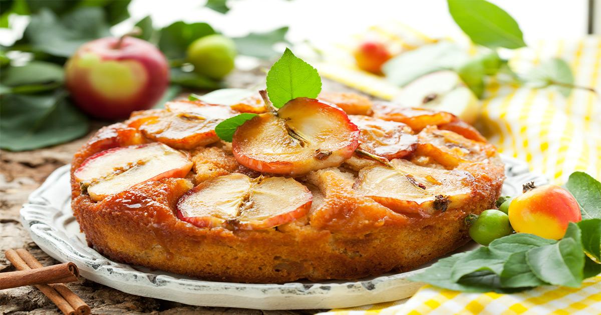 Apfel Kuchen Low Carb