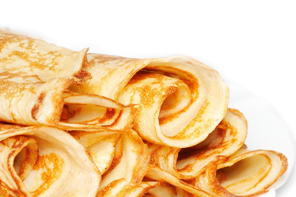 Leckere Crepes fettarm und ohne Ei